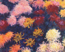 Claude Monet. Chrysanthemum