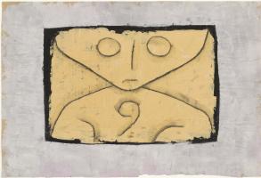 Paul Klee. Letter Ghost