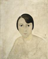 Цугухару Фудзита ( Леонар Фужита ). Портрет Кики с Монпарнаса