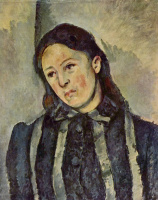 Поль Сезанн. Портрет мадам Сезанн