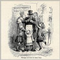 Томас Наст. 16 Сообщения и списки для Санта-Клауса