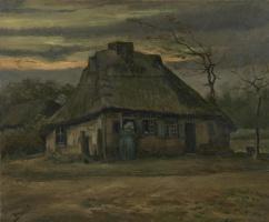 Vincent van Gogh. Old house