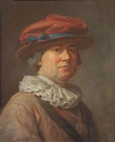 Жан Батист Симеон Шарден. Портрет мужчины