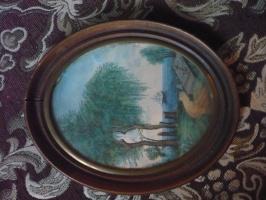 Призрак Наполеона на острове св. Елены.