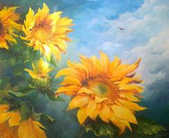 Юлия Сидоренко. Солнечные цветы