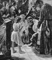 Макс Либерман. Двенадцатилетний Иисус в храме. Фотокопия первого варианта картинты