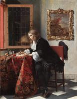 Юноша, пишущий письмо