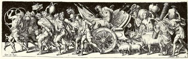 Этьен Делон. Триумфальная процессия