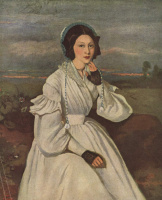 Камиль Коро. Портрет мадам Шармуа