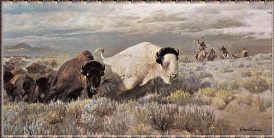 Джон Клаймер. Белый буйвол