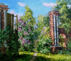 Виктор Владимирович Курьянов. Старые ворота