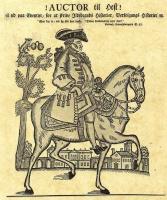 Иохан Рудольф Тиле. Карикатура на городского хирурга К. Ф. Рейзера