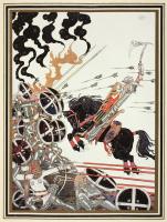 """Кей Нильсен. Лад в бою. Иллюстрация к сборнику сказок """"На восток от солнца, на запад от луны"""""""