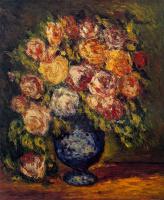 Артуро Соуто. Букет цветов в синей вазе
