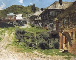 Исаак Ильич Левитан. Уголок в Плесе