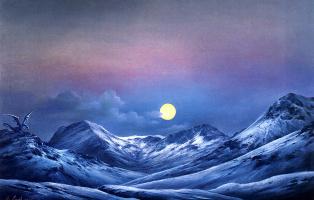 Анна Садворс. Лунный свет