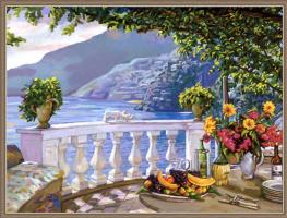 Ив Лантьер. Вид с балкона