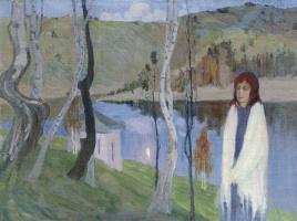 Борис Израилевич Анисфельд. Меланхолия. 1910-е.