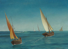 Альберт Бирштадт. На Средиземном море