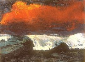Эмиль Нольде. Волна
