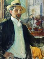 Леонид Осипович Пастернак. Автопортрет. 1908