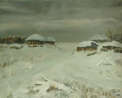 Зима на хуторе