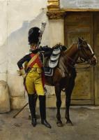 Франсуа Фламенг. Солдат императорской гвардии.