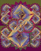 Юрий Николаевич Сафонов (Yury Safonov). Самоклонирующиеся дроны — фабрика нано-роботов (серия Фракталы)