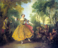 Николя Ланкре. Танец