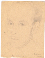 Unknown artist. Portrait of B. B. Tietz