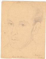 Неизвестный  художник. Портрет Б.Б. Тица
