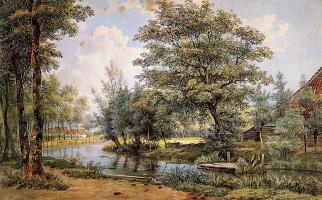 Виллем де Клерк. Деревья у воды