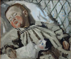 Клод Моне. Спящий Жан Моне