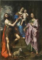 Теодор ван Лоон. Богородица с младенцем между святыми Иоанном Крестителем и Иоанном Богословом