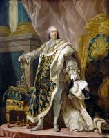 Луи-Мишель ван Лоо. Портрет Людовика XV, короля Франции