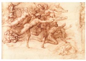Michelangelo Buonarroti. Archers