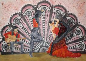 Julia Sergeevna Bochkareva. Spanish Fiesta - flamenco expression