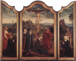 Квентин Массейс. Христос на кресте