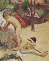 Paul Gauguin. The Breton boys bathing