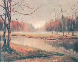 Ричард Александрович Берггольц. Осенний пейзаж