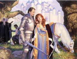 Грег Хильдебрандт. Рыцарь и принцесса
