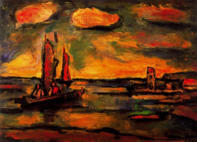Georges Rouault. Sunset