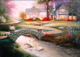 Дональд Руст. Лебединая семья