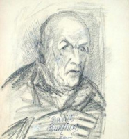Давид Давидович Бурлюк. Мужской портрет