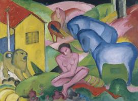 Franz Marc. Sleep