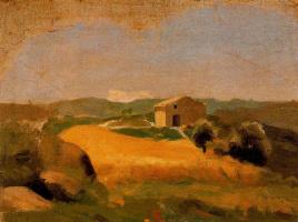 Ю. Пуджиес. Сельский пейзаж