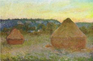 Claude Monet. Haystacks (End of day, autumn)