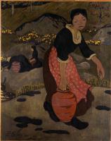 Поль Серюзье. Молодая бретонка с кувшином