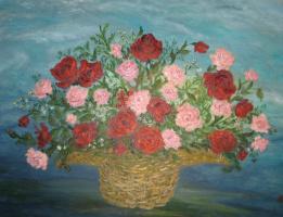 Рита Аркадьевна Бекман. Букет роз