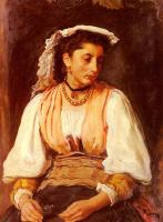 Джон Эверетт Милле. Пиппа. Портрет итальянской женщины